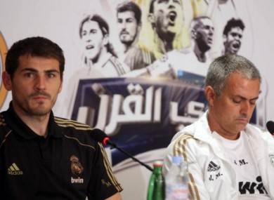 Casillas has found first-team action hard to come by of late under Jose Mourinho.