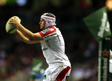 Ulster hooker Rory Best missed out on Lions selection.