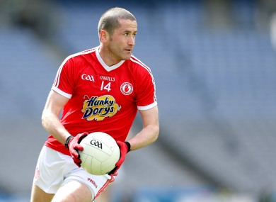 Tyrone attacker Stephen O'Neill.