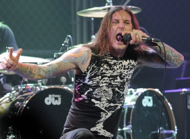 Lambesis on stage in 2010