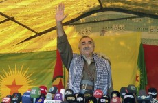 Kurdish rebels begin critical pullout from Turkey