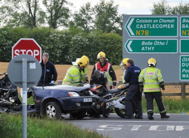 85-year-old driver of car in Kildare crash dies · TheJournal.ie