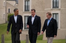 Videos: Enda takes a walk with Cameron and Obama… and then Lagarde