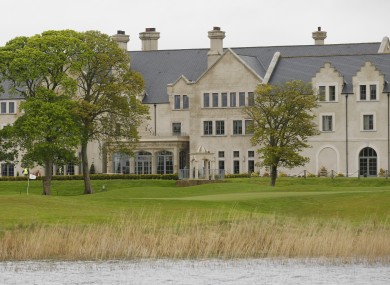 The Lough Erne Golf Resort in Enniskillen, where the G8 summit will be held