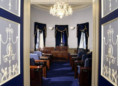 Will the Seanad chamber be lying idle much more often in future?