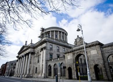 The Four Courts in Dublin