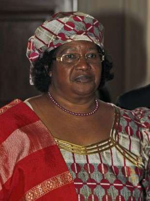 President of Malawi Joyce Banda