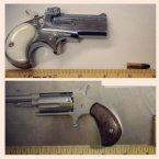 Derringers discovered at Charleston. (Pic: TSA/Instagram)