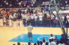 Wondering what LeBron is at? Getting dunked on by a kid in the Philippines