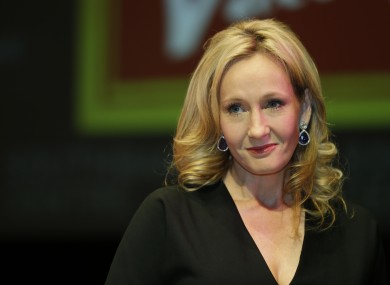 British author J.K. Rowling of 'The Cuckoo's Calling'.