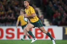 Quade Cooper recalled to Australia squad by McKenzie