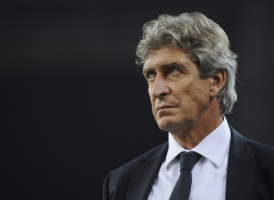 Manuel Pellegrini will join up with the squad in Hong Kong.