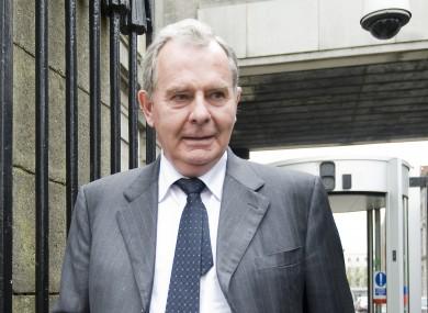 File photo of Seán Quinn leaving court.
