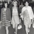 Ladies out on the town in the 1960s.