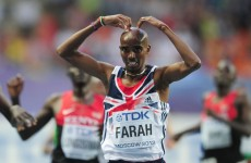 Mo Farah confident he will talk Wayne Rooney into signing for Arsenal