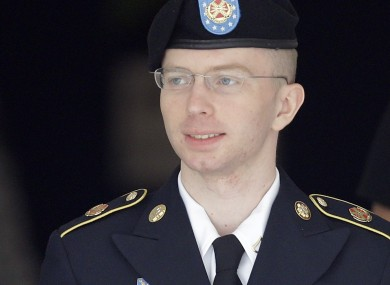 Army Private Bradley Manning