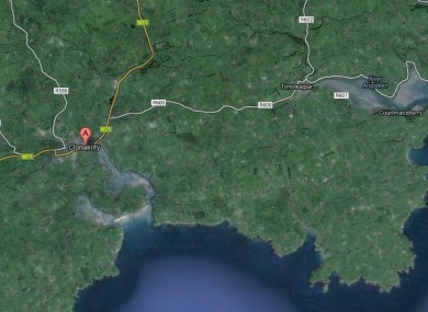 The crash happened on the Clonakilty to Timoleague Road
