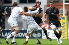 Flood hospitalised as Ulster ship 30 points to Leicester Tigers