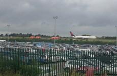 Plane makes emergency landing at Dublin Airport