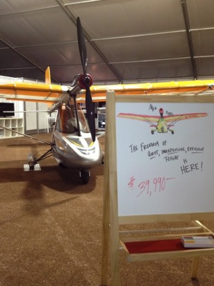 The eSpyder electric airplane