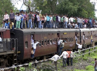 File Image of an Indian Train