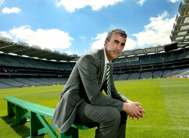 Donegal manager and Celtic performance consultant Jim McGuinness.