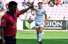 League debut awaits as Jonathan Sexton named outhalf for Racing