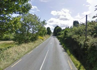 File image of the road between etween Scartaglen and Ballydesmond where the accident happened.