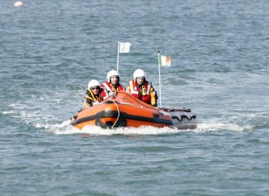 File photo of Coast Guard crew
