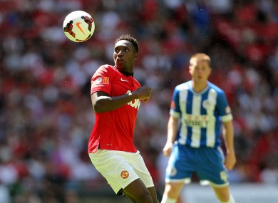 Danny Welbeck was influential as United overcame Wigan today.