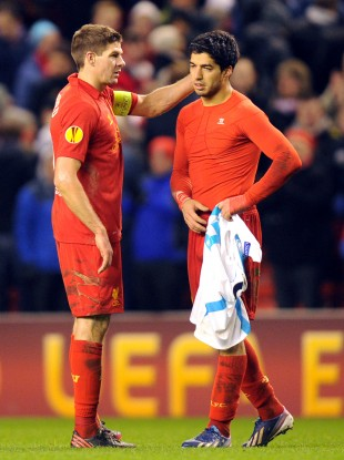 Liverpool midfielder Steven Gerrard believes the club's season depends on keeping hold of Luis Suarez - and says a move to Arsenal