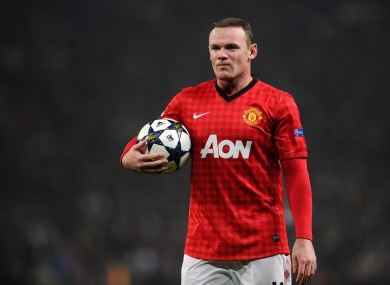 Rooney has not traveled with the United first-team squad.