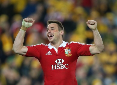 Tommy Bowe's last match was the Third test win over Australia.