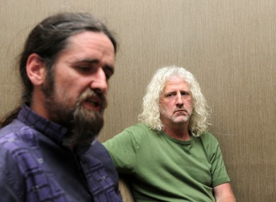 Luke Ming Flanagan and Mick Wallace
