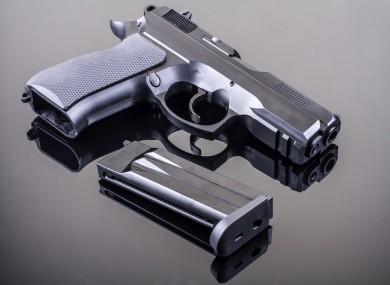 9mm semi-automatic handgun (File photo)