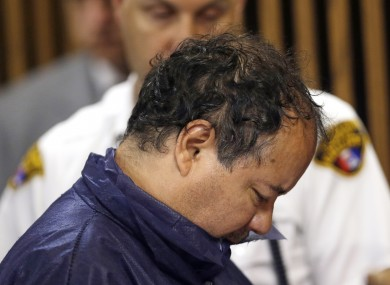 File photo, Ariel Castro appears in Cleveland Municipal court in Cleveland