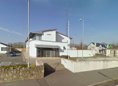 Ballyshannon Garda Station, where the woman arrested yesterday had been detained.