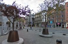 Man has face slashed in Dublin City centre
