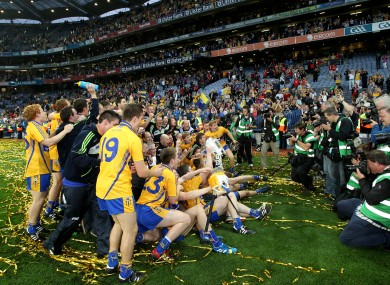 Clare: All-Ireland champions for the first time since 1997.