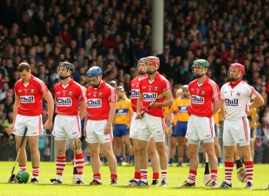 Cork and Clare: Munster rivals meet again.