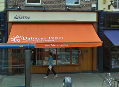 Daintree Paper, in Dublin city.