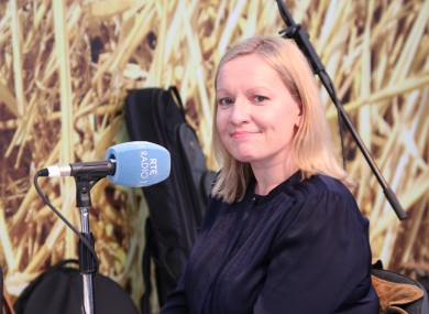 Lucinda Creighton interviewed on RTÉ Radio 1 at the Ploughing Championships this morning