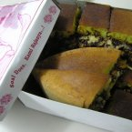 Martabak Manis is a sweet, thick Indonesian pancake.