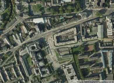 The James' Street area of Dublin