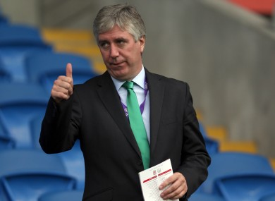 Job search: John Delaney will wait for Houghton and Dokter to report back.
