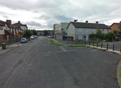 Kitalown Way in Tallaght (File photo)