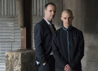 Nidge is closely shadowed by Detective Inspector Mick Moynihan in the new series.