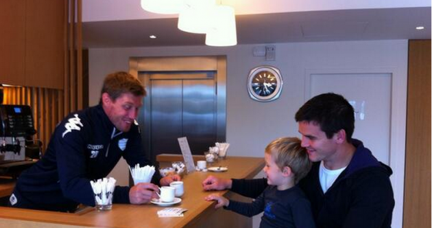 Looks like Ronan O'Gara and Jonny Sexton are besties now