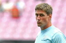Watch Ronan O'Gara's singing class at Racing Métro