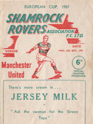 56 years ago: Shamrock Rovers met the Busby Babes in Europe